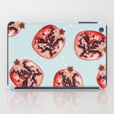Pomegranate & Snow #society6 #buyart #pattern #decor iPad Case