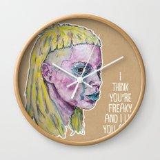 Yo-Landi Visser Wall Clock