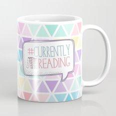 #Currently Reading Pastel Triangle  Mug