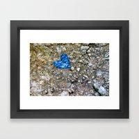 a little love Framed Art Print
