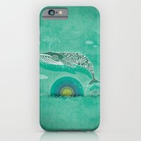 iPhone & iPod Case featuring Whale Future by Bajibaj