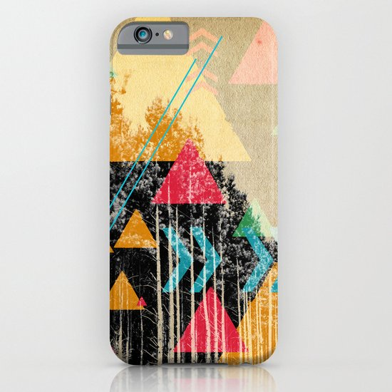 TRIANGLES AND NATURE  iPhone & iPod Case