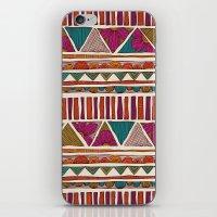 Tribal Stripes iPhone & iPod Skin