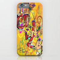 Grazy - Graffiti iPhone 6 Slim Case