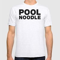 POOL NOODLE Mens Fitted Tee Ash Grey SMALL