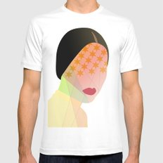 Porn Star SMALL Mens Fitted Tee White