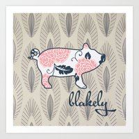 Blakely Art Print
