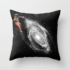 Space Art Throw Pillow