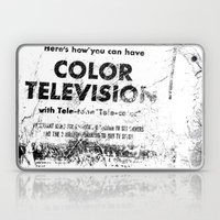 Color Television Laptop & iPad Skin