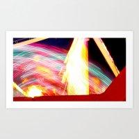Lights at the Fair Art Print