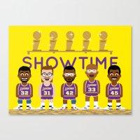 Showtime Canvas Print