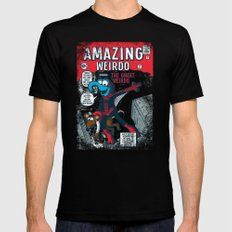 Amazing Wierdo Mens Fitted Tee Black SMALL