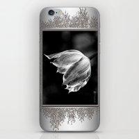 Virichic in Black and White iPhone & iPod Skin