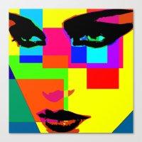 Colorblocks Canvas Print
