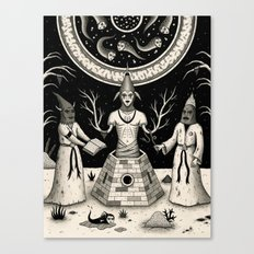 The Incantation Canvas Print