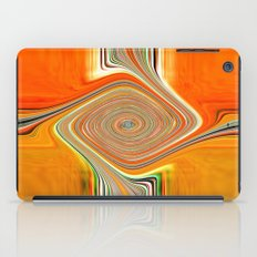 Abstract.Orange+Lemon. iPad Case