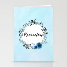 HP Ravenclaw In Watercol… Stationery Cards