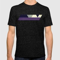 shymmlyss Mens Fitted Tee Tri-Black SMALL