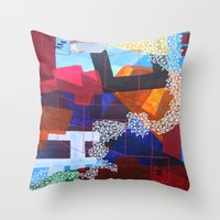 Bee mine Throw Pillow