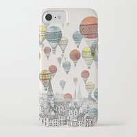 home iPhone & iPod Cases featuring Voyages over Edinburgh by David Fleck