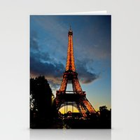 Lighting The Tower Stationery Cards
