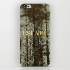 Escape x Forest iPhone & iPod Skin