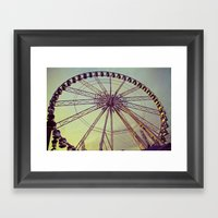 Le Roue Paris Framed Art Print