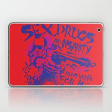 Sex,Drugs and Insanity Laptop & iPad Skin