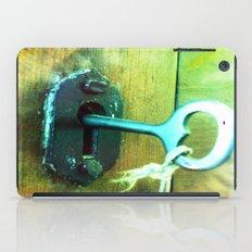 heart key iPad Case