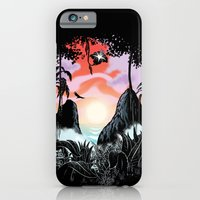 iPhone & iPod Case featuring Black orchid by John Duvengar