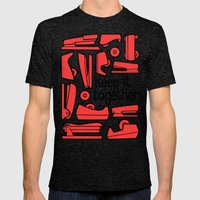 keep it together Mens Fitted Tee Tri-Black SMALL