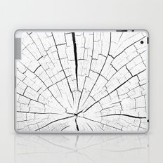 Woody white Laptop & iPad Skin
