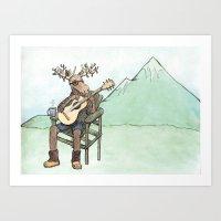 Portland Wildlife Art Print