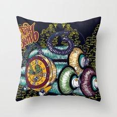 Time Bomb Throw Pillow