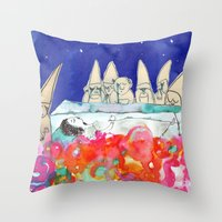 Snow White Throw Pillow