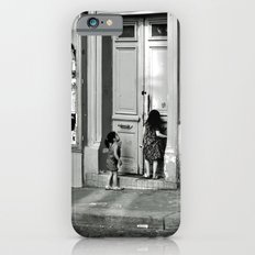Paris, ringing the door bell iPhone 6 Slim Case