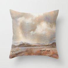 Graze On Throw Pillow
