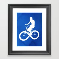 Endless Cycle Framed Art Print
