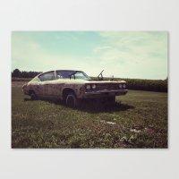 69 Chevelle 'Zombiecar' Canvas Print