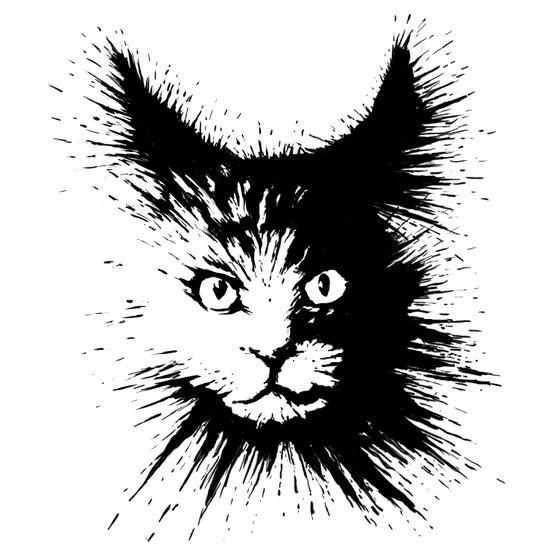 Inkcat4 Art Print
