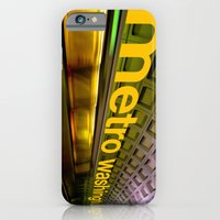 iPhone & iPod Case featuring metro by Jason Martin