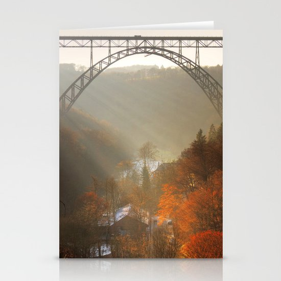 valley of light Stationery Card