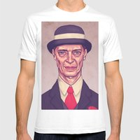 Nucky Thompson Mens Fitted Tee White SMALL