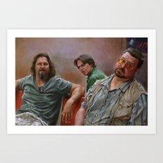 Big Lebowski Art Print
