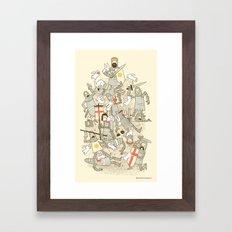 Bad Tempered Rodents Framed Art Print