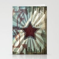 Five Star Fail. Stationery Cards