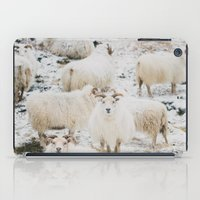 Icelandic Sheep iPad Case