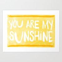My Sunshine Love Art Print