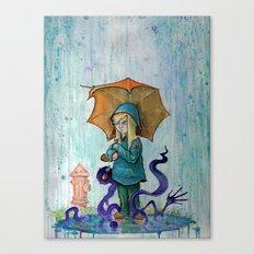 Alone To Soak Canvas Print