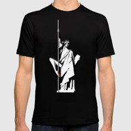 True Freedom Mens Fitted Tee Black SMALL